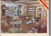The Antique Shop Greetings Card - Michael Herring