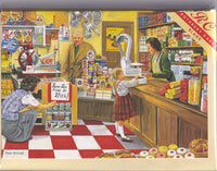 The Corner Shop Greetings Card - Trevor Mitchell