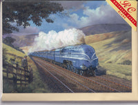The Coronation Scot Steam Train Greetings Card - Malcolm Root