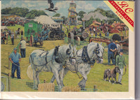 The Country Show Greetings Card - Trevor Mitchell