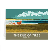 The Isle Of Tiree Scotland Greetings Card - Stephen Millership