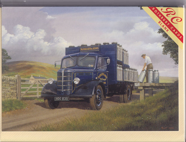 The Milk Collection Greetings Card - Malcolm Root