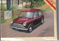 The Mini Car Mark 1 Greetings Card - Kevin Walsh