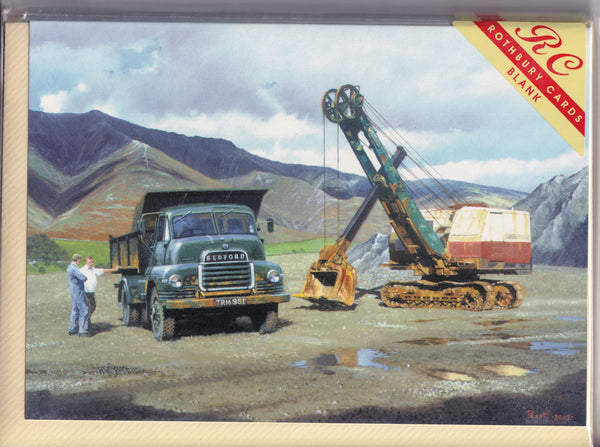 The Stone Quarry Greetings Card - Malcolm Root