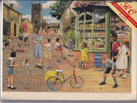 The Sweet Shop Greetings Card - Trevor Mitchell