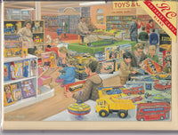 The Toy Department Greetings Card - Trevor Mitchell