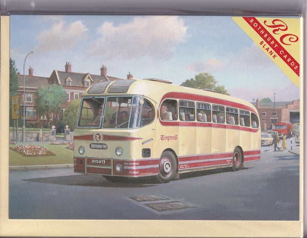 Timpsons Coach Tours Greetings Card - Mike Jeffries