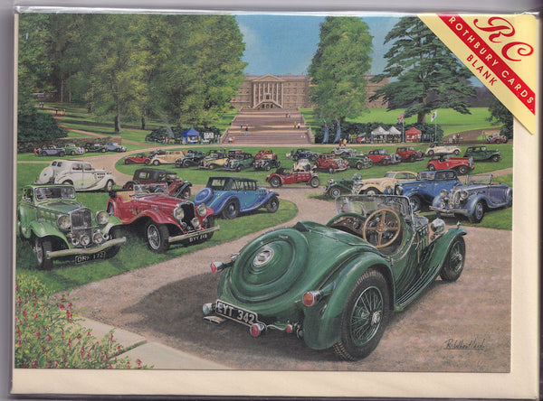 Triumph Cars Rally Greetings Card - Richard Wheatland