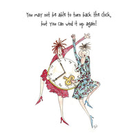 Turn Back The Clock Camilla & Rose Greetings Card