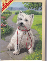 West Highland Terrier Greetings Card - Kevin Walsh