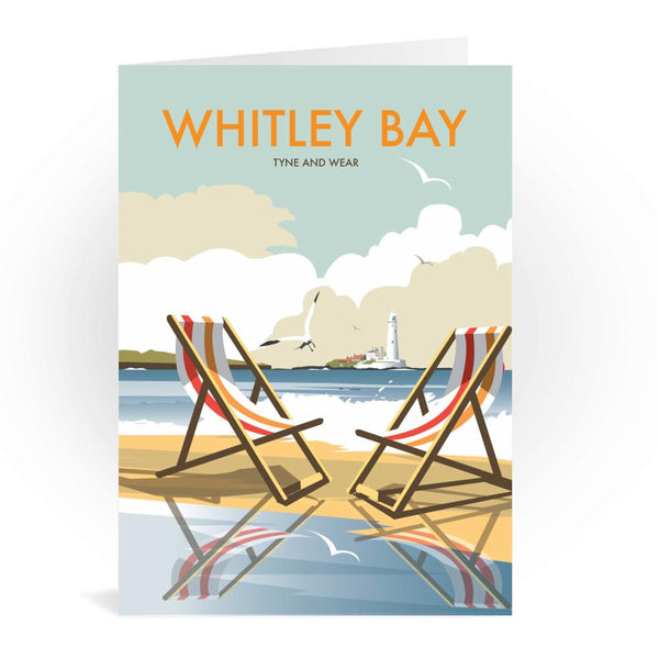 Whitley Bay Tyne And Wear Greetings Card - Dave Thompson
