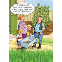 Winter Crop Greetings Card - Gardeners Weakly