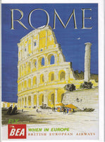 Rome By BEA Greetings Card