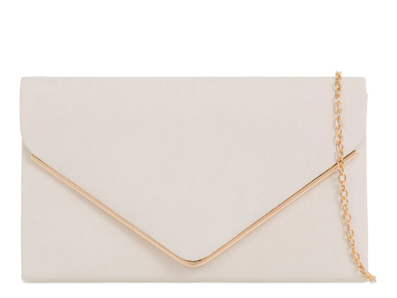 Ivory Envelope Clutch