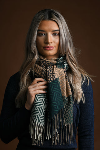 Laoise Green Scarf