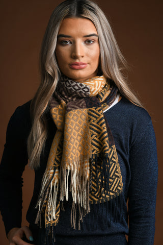 Laoise Gold Scarf