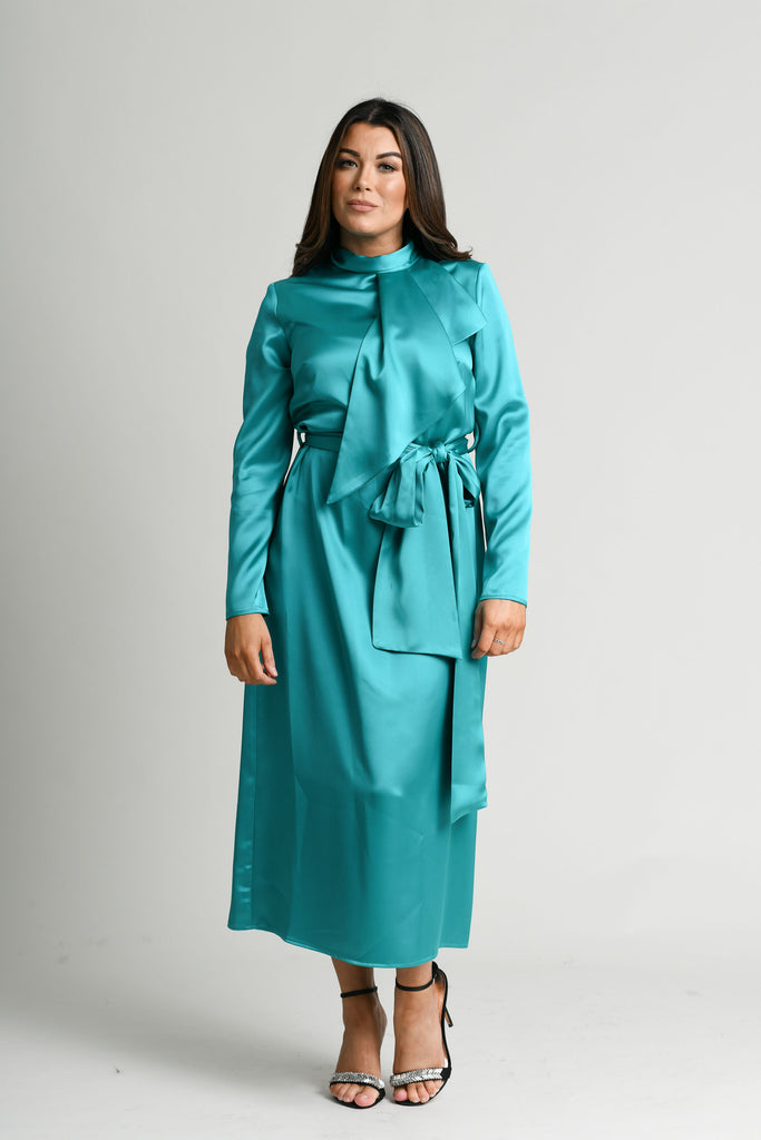 Casting Teal Joanne Dress