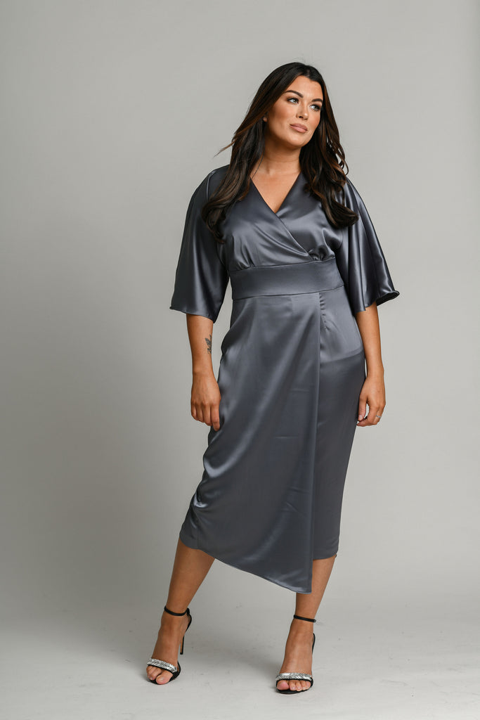 Moncho Heredia Margot Grey Dress