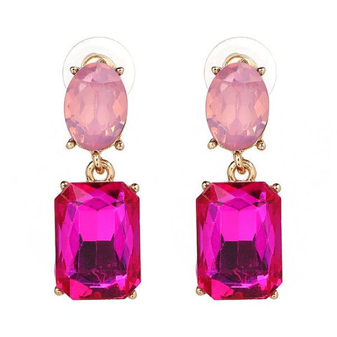 Two Tone Pink Earring