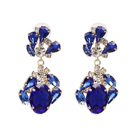 Cobalt Sparkle Earrings
