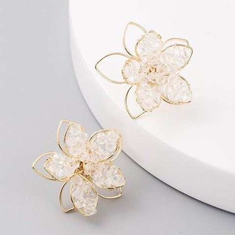 Grace Flower Earrings