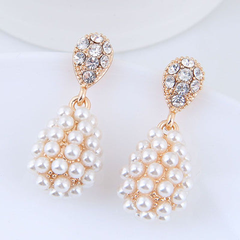 Estelle Pearl Earrings