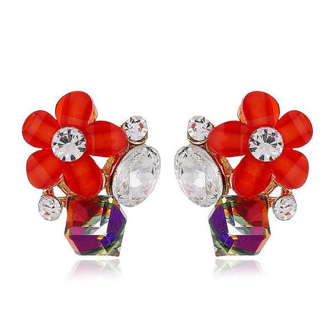 Rita Red Earrings