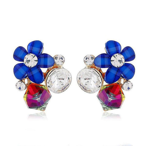 Rita Blue Earrings