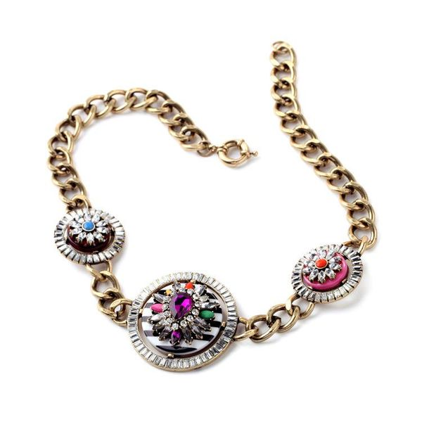 Bonnie Rhinestone Necklace