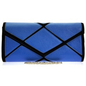 Blue Criss Cross Bag