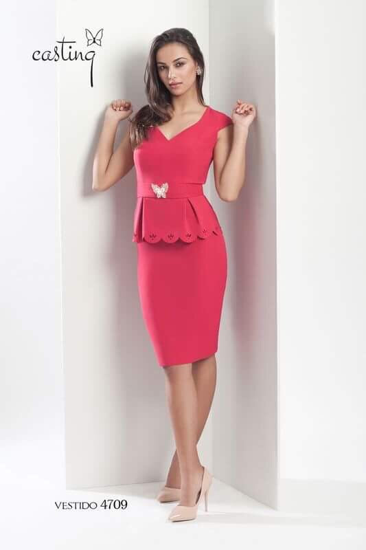 Kayleigh Peplum Dress