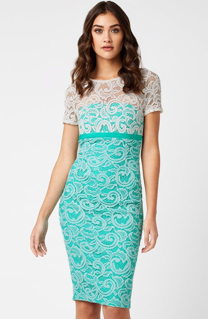 Klarissa Lace Fitted Dress