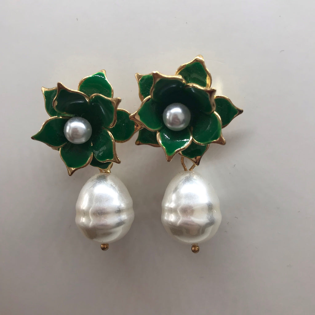 Kerry Green Earrings