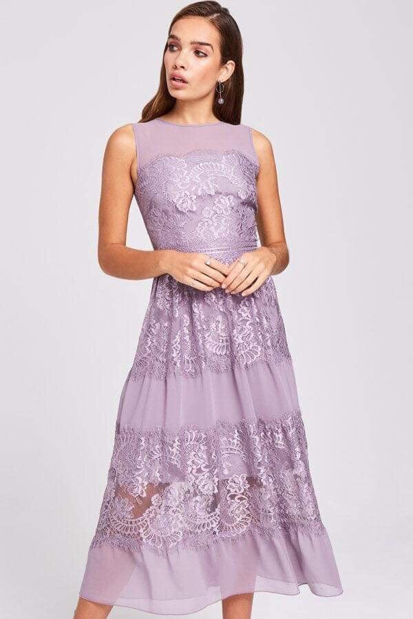 Paige Lace Midi Dress