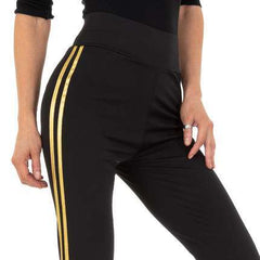 Miley Black/Gold Leggings