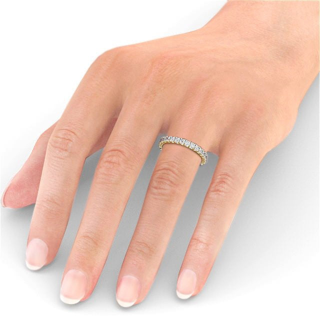 Full Eternity Ring, Round Cut Classic Design