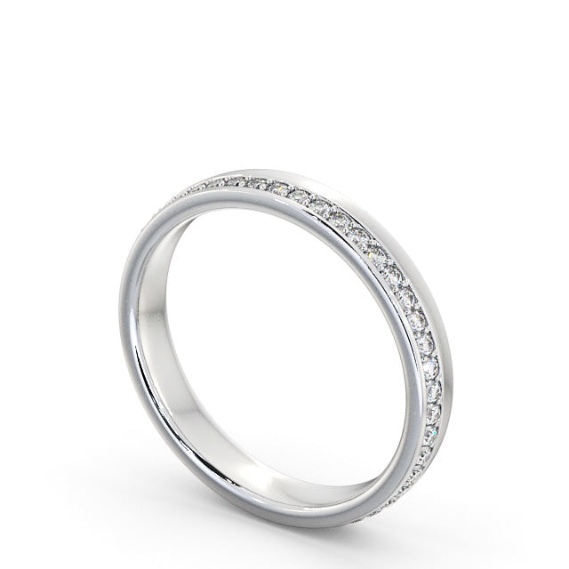 Full Eternity Ring, Offset Round Cut Stones