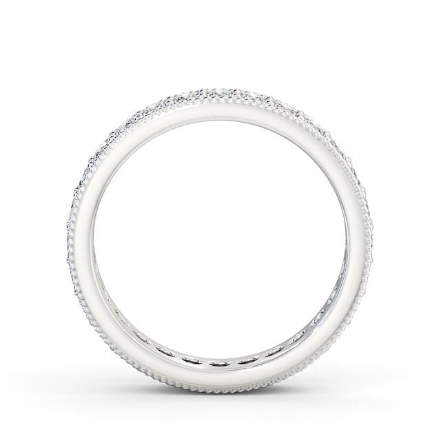 Full Eternity Ring, Round Cut With Migrain Edge