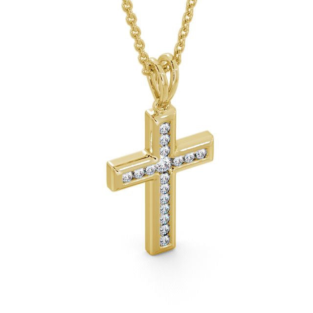 Cross Pendant 0.45ct