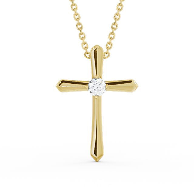 Cross Pendant 0.15ct