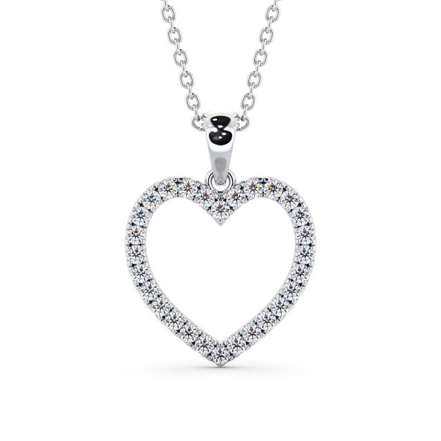 Heart Shaped Pendant 0.70ct
