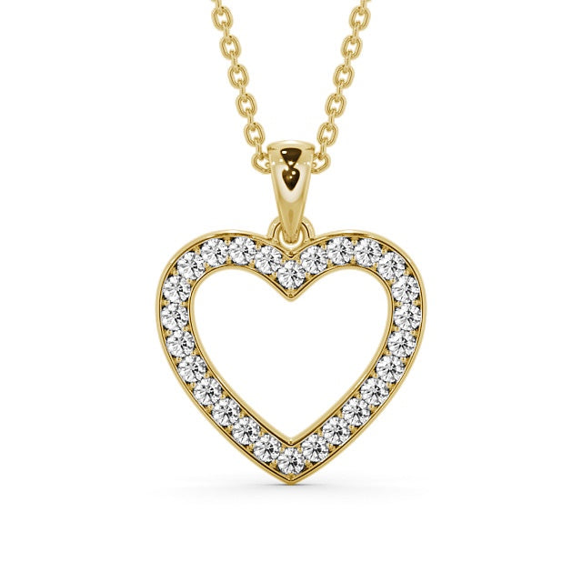 Copy of Heart Shaped Pendant 0.65ct