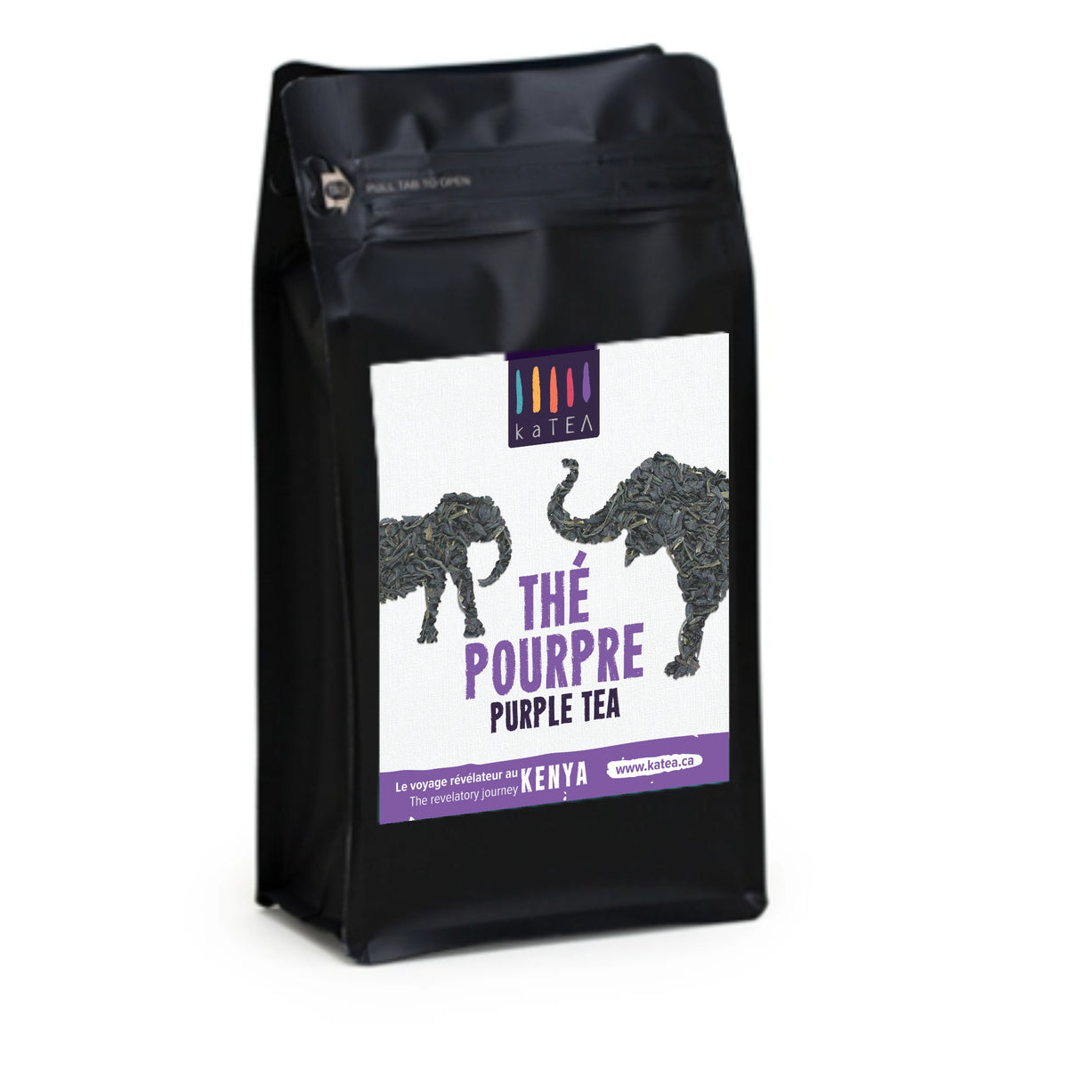 Kenya Purple Tea in Unique Package
