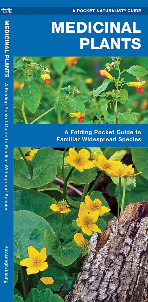 Medicinal Plants: A Folding Pocket Guide to Familiar Widespread Species
