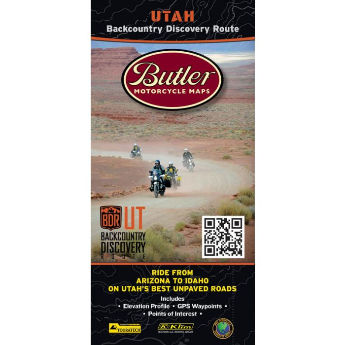 Utah Backcountry Discovery Route: Butler Motorcycle Maps