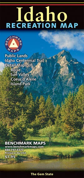 Idaho Recreation Map: Benchmark Maps