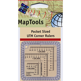 MapTools Pocket Sized UTM Corner Rulers