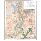Map 20, Map-20, M 20, M20, UGS, UGMS, GES, USGS, staff