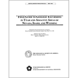 Field guide to geologic excursions in Utah and adjacent areas of Nevada, Idaho, and Wyoming, G.S.A. field guide, Rocky Mountain Section (MP 92-3)
