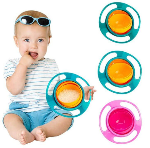 Baby Spill Proof Feeding Bowls - Infant Kingdom